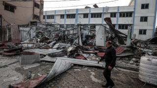 İsrail terörünün yıkımı gün ağarınca ortaya çıktı