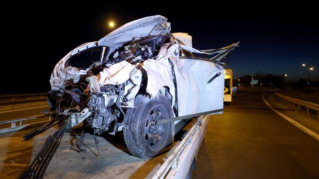 Büyükçekmece feci kaza: 1 ölü