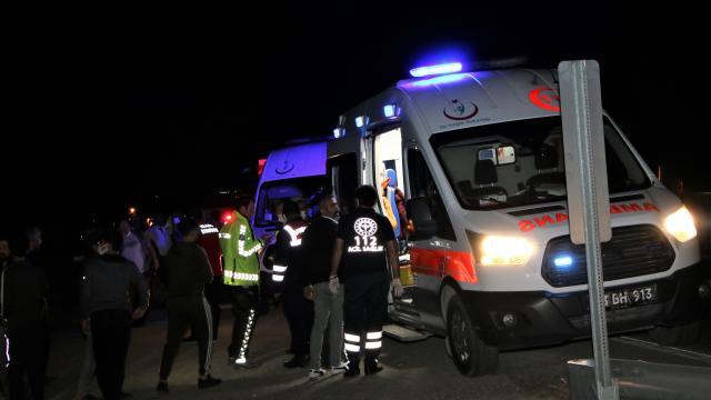Elazığda trafik kazası: 2si ağır 5 yaralı