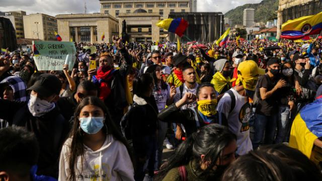 Kolombiyada anlaşma sağlanamadı, protestolar tekrar başladı