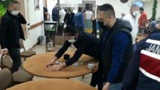 Osmaniye'de kumar baskını: 37 kişiye 116 bin 550 lira ceza