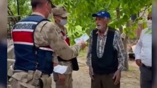 78 yaşındaki kişinin emekli maaşını çalanlar jandarmadan kaçamadı
