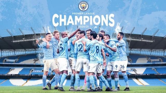 Premier Ligde şampiyon Manchester City