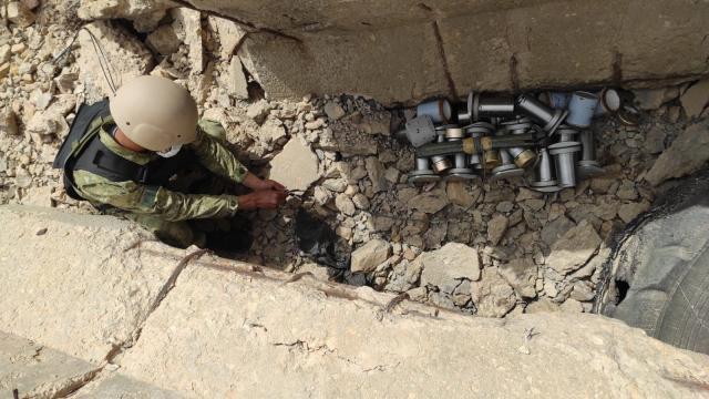 Libyada mayın temizleme çalışmaları sürüyor