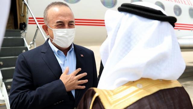 Bakan Çavuşoğlu Suudi Arabistanda