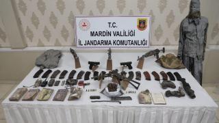 Mardin'de 7 teröristin etkisiz hale getirildiği operasyonda 4 uzun namlulu silah ve 2 tabanca ele geçirildi
