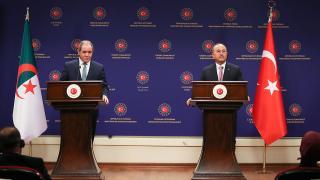 Cezayir Dışişleri Bakanı'ndan Çavuşoğlu'na teşekkür