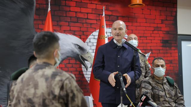 Bakan Soylu: Turuncu listedeki terörist Ferhat Taşdemir etkisiz hale getirildi