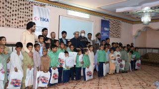 TİKA'dan Afganistan'da ihtiyaç sahibi 600 aileye gıda yardımı