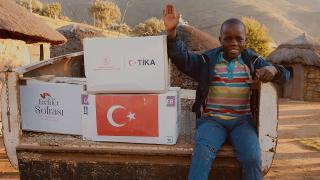 TİKA, 82 ülkeden 1 milyon kişiye Türkiye'nin dost elini uzattı