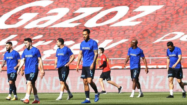 Trabzonspordan tarihi beraberlik serisi