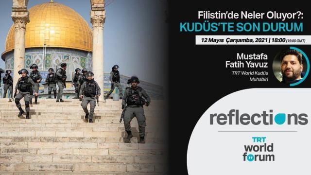 TRT World Forum Filistin'de yaşananları ele alıyor