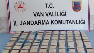 Van'da 21 kilogram eroin ele geçirildi