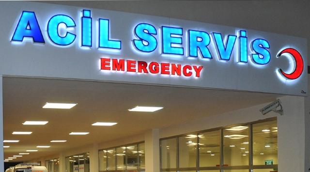 MHPli İlçe Başkanı hastaneye kaldırıldı