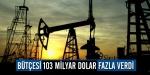 Bütçesi 103 Milyar Dolar Fazla Verdi