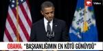 """Obama: """"Başkanlığımın En Kötü Günüydü"""""""