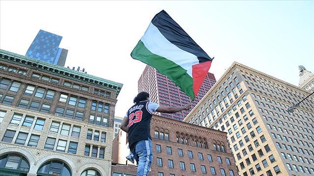 ABDde Filistine destek yazıları için nefret suçu soruşturması