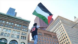 ABD'de Filistin'e destek yazıları için nefret suçu soruşturması