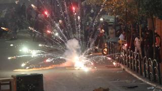 İsrail'in Gazze'ye yönelik saldırıları Batı Şeria'da protesto edildi