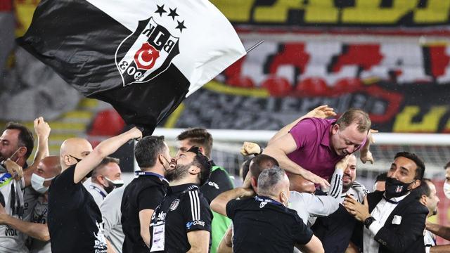 Beşiktaşa tebrik mesajları