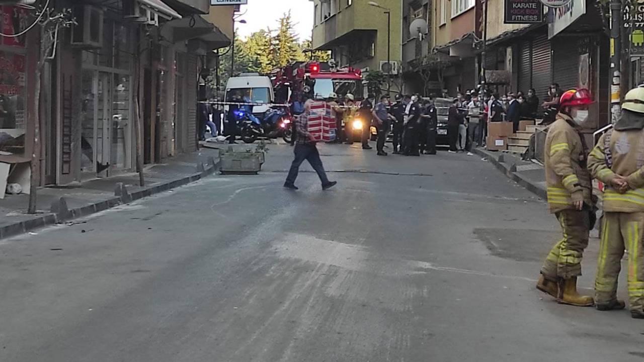 Çökme tehlikesi bulunan 6 katlı bina boşaltıldı