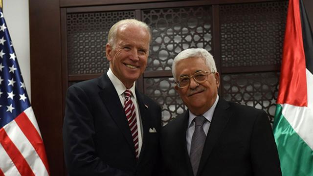 Filistin Devlet Başkanı Abbas, Biden ile görüştü