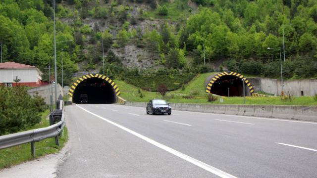 Bolu Dağında bayram sonrası trafiği yok