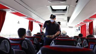 Turizm merkezi Antalya'da Covid-19 denetimleri sürüyor