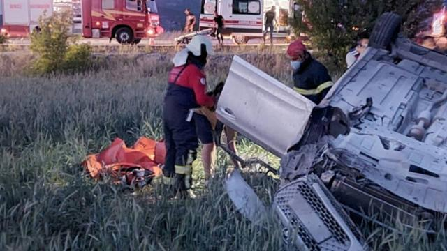 Denizlide trafik kazası: 2 ölü, 2 yaralı