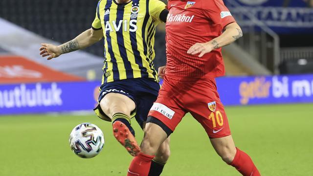Fenerbahçe ile Kayserispor 50. kez karşılaşacak