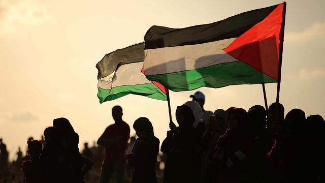 Filistinden ABDnin BMGKdaki tutumuna tepki