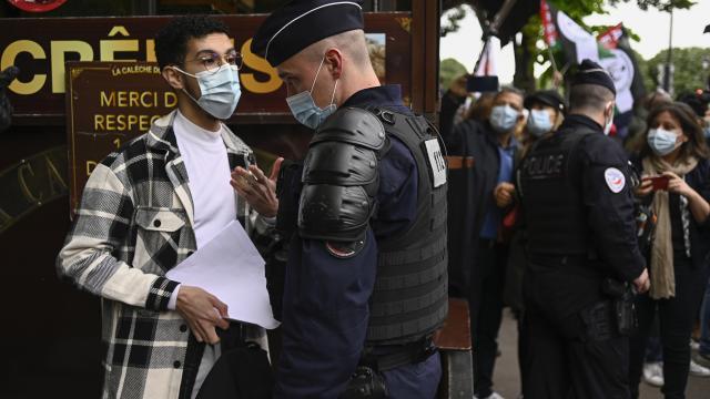 Fransa, Filistine destek gösterilerine izin vermiyor