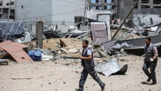 İsrail'in Gazze'ye düzenlediği saldırılarda şehit sayısı 83'e çıktı