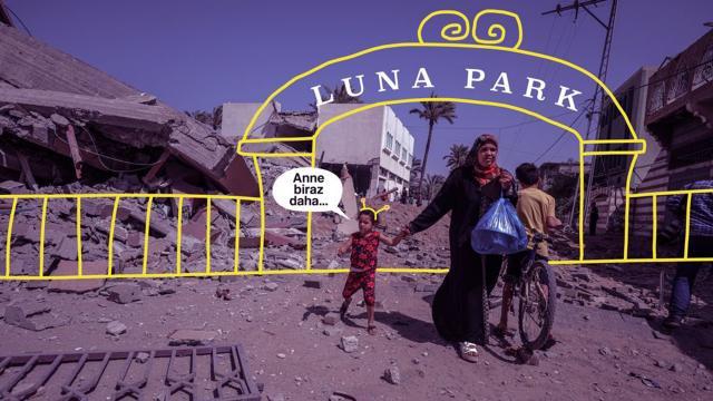 """""""Gazzede zulüm olmasaydı çocuklar lunaparka gideceklerdi"""""""