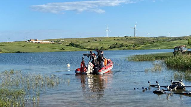 Balıkesirde gölette kaybolan kişinin cansız bedenine ulaşıldı