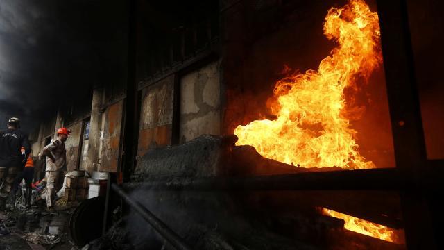 Hindistanda kimyasal madde üretimi yapan tesiste patlama