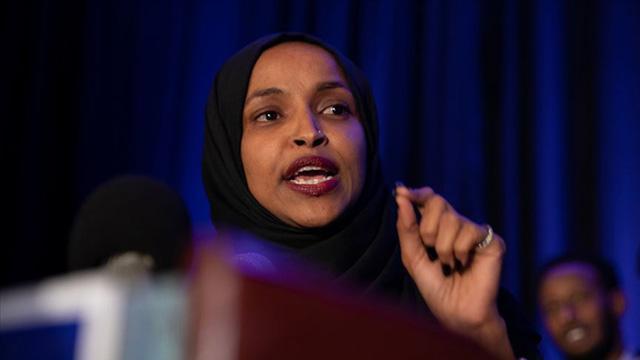 ABDli Kongre üyesi Omardan İsrail tepkisi: Mide bulandırıcı