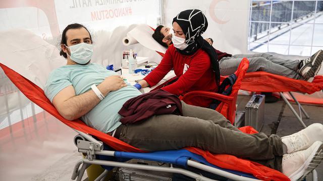 Kızılayın kan bağışı çağrısı karşılıksız kalmadı