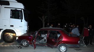 Kayseri'de çaldığı otomobille kaza yapan kişi yakalandı