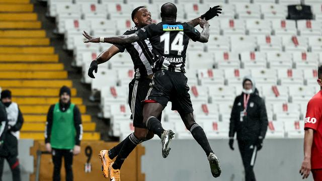 Beşiktaşta 5 futbolcu hücuma büyük katkı verdi