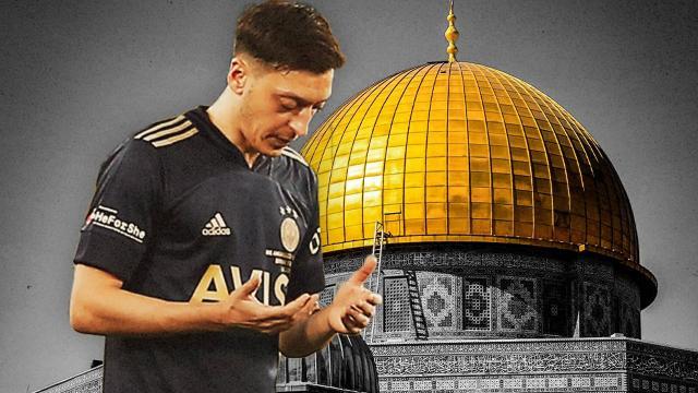 Mesut Özil: Filistindeki kardeşlerim dualarım sizinle