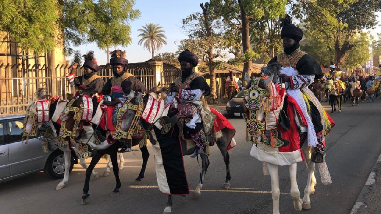 Nijerya'da bayram kutlamaları: Hawan Daushe