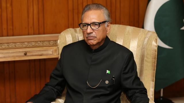 Pakistan Cumhurbaşkanı, İsrailin saldırılarını  kınadı