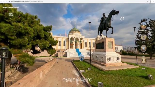 Sanal müzeleri 13 milyon kişi ziyaret etti