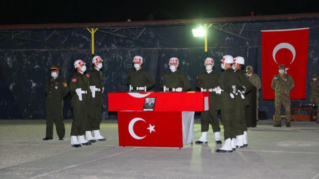 Şehit Yasin Özdamar'ın cenazesi törenle memleketine uğurlandı
