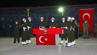 Şehit Yasin Özdamar'ın cenazesi memleketine uğurlandı