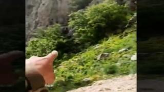 Terör mağarası imha edildi