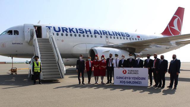 THY, Gence-İstanbul seferlerini 14 ay sonra yeniden başlattı