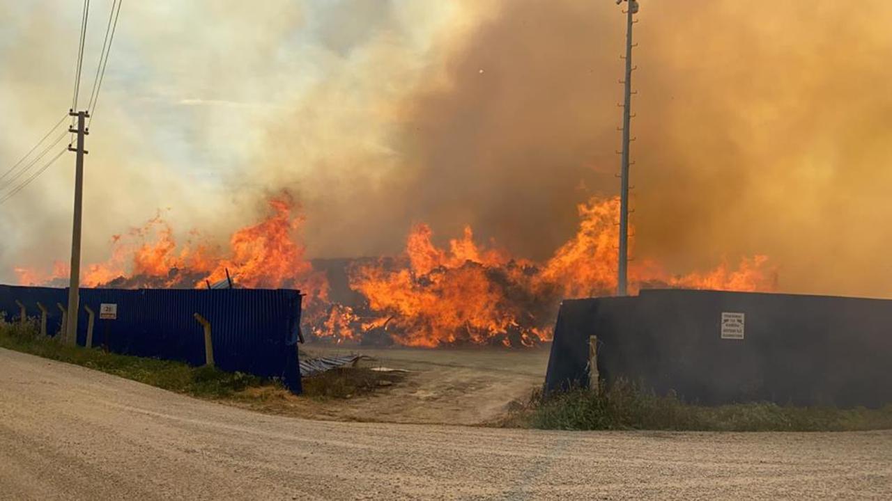 Enerji santralinde 15 gün arayla ikinci yangın