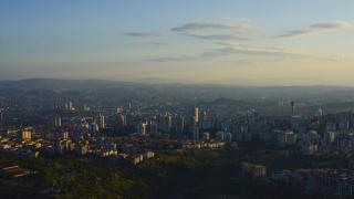 Ankara'da gün doğumu